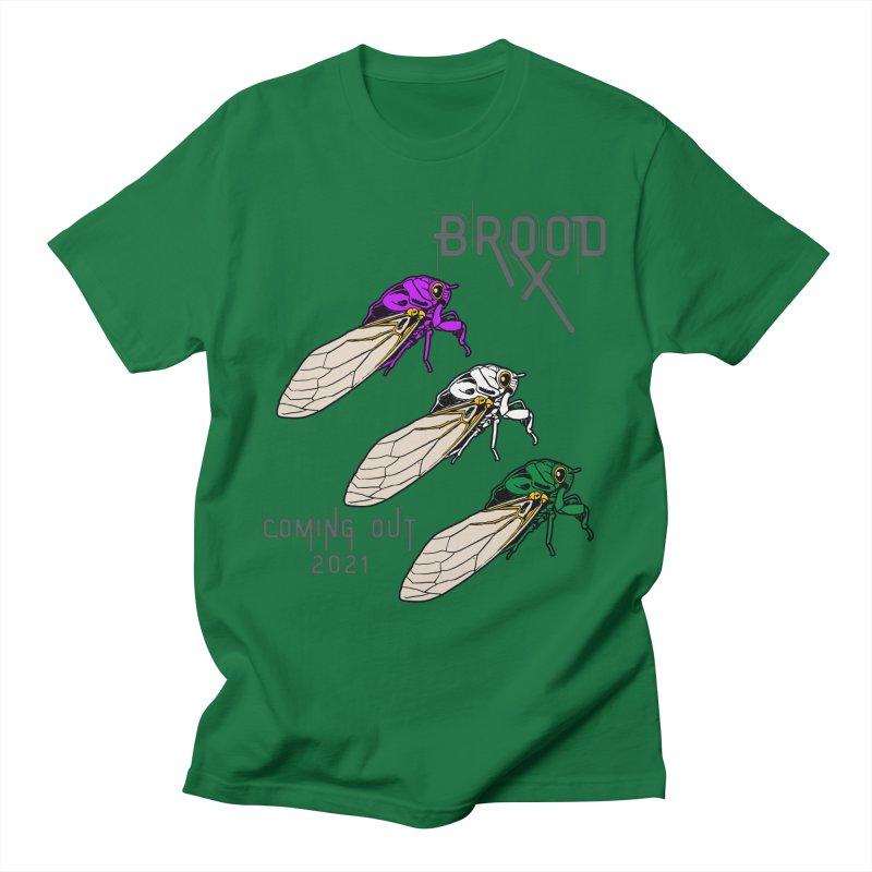 Genderqueer Cicadas Men's T-Shirt by avian30