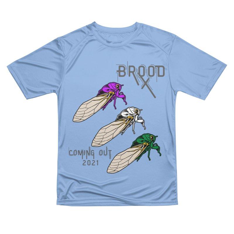 Genderqueer Cicadas Women's T-Shirt by avian30