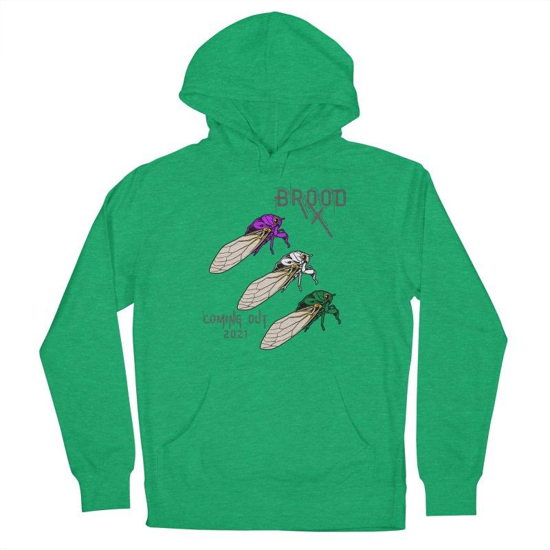 Genderqueer Cicadas Men's Pullover Hoody by avian30