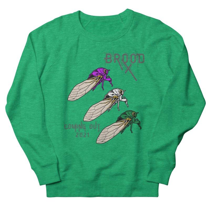 Genderqueer Cicadas Women's Sweatshirt by avian30