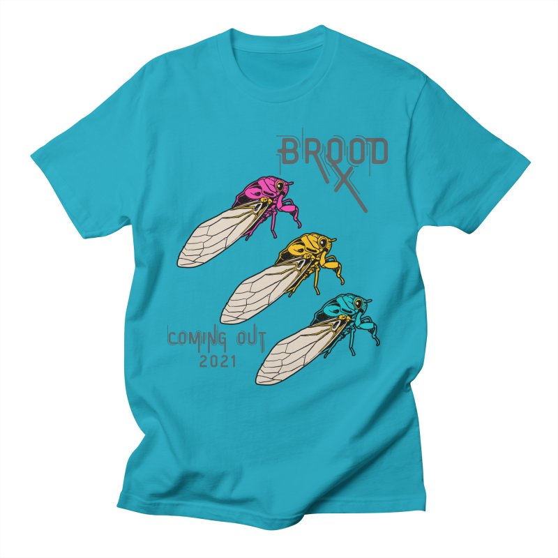 Pansexual Cicadas Men's T-Shirt by avian30