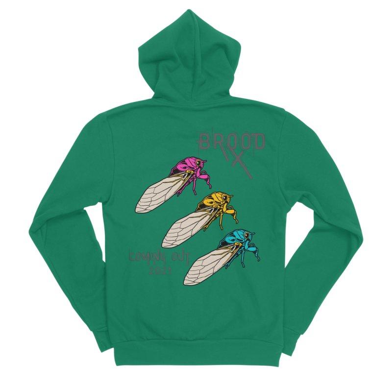 Pansexual Cicadas Women's Zip-Up Hoody by avian30