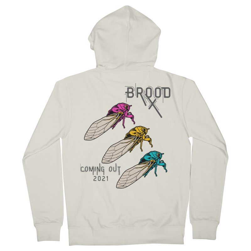 Pansexual Cicadas Men's Zip-Up Hoody by avian30