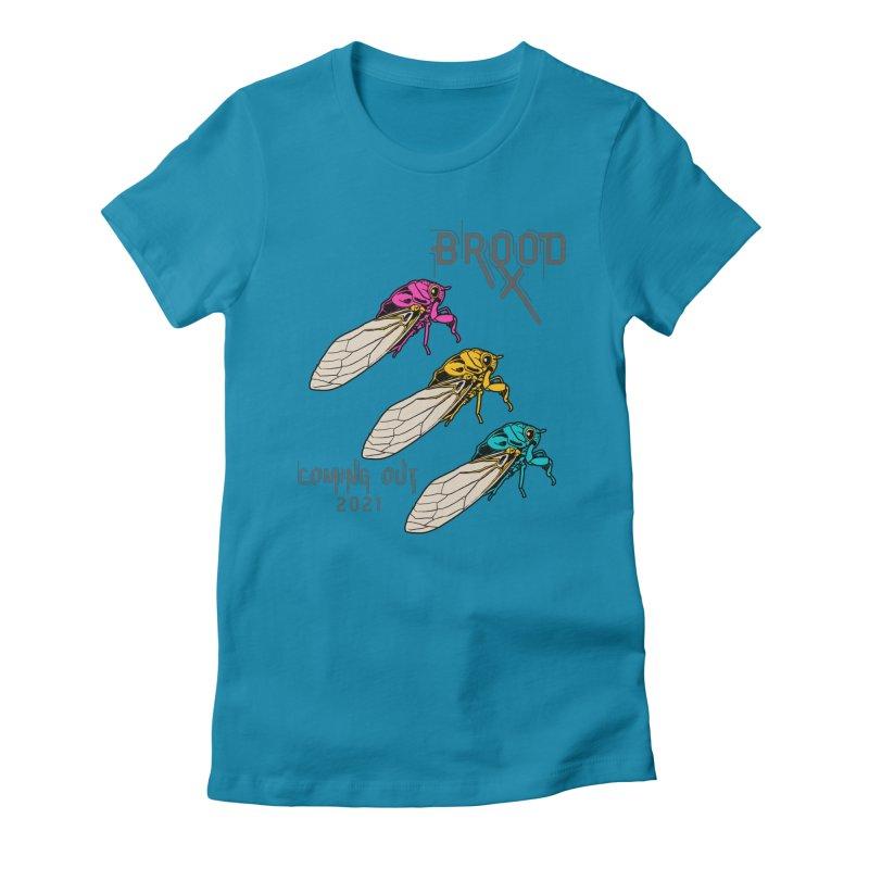 Pansexual Cicadas Women's T-Shirt by avian30