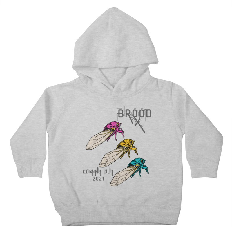 Pansexual Cicadas Kids Toddler Pullover Hoody by avian30