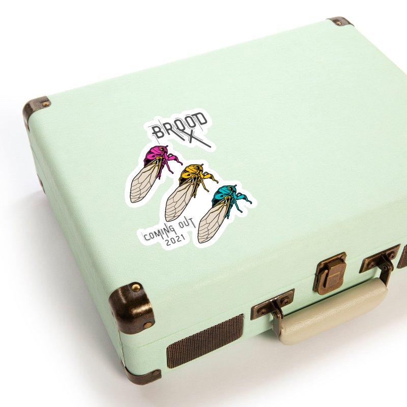 Pansexual Cicadas Accessories Sticker by avian30