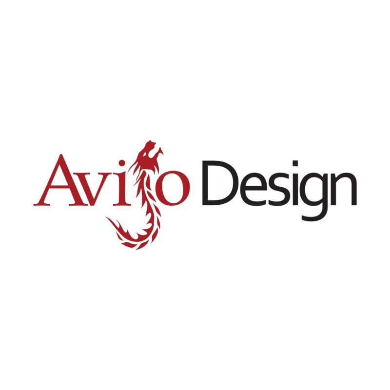 Avijo Design Logo Accessories Zip Pouch by AvijoDesign's Artist Shop