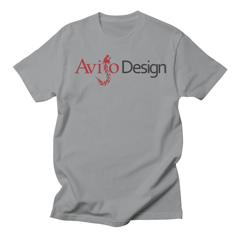 Avijo Design Logo Men's Regular T-Shirt by AvijoDesign's Artist Shop