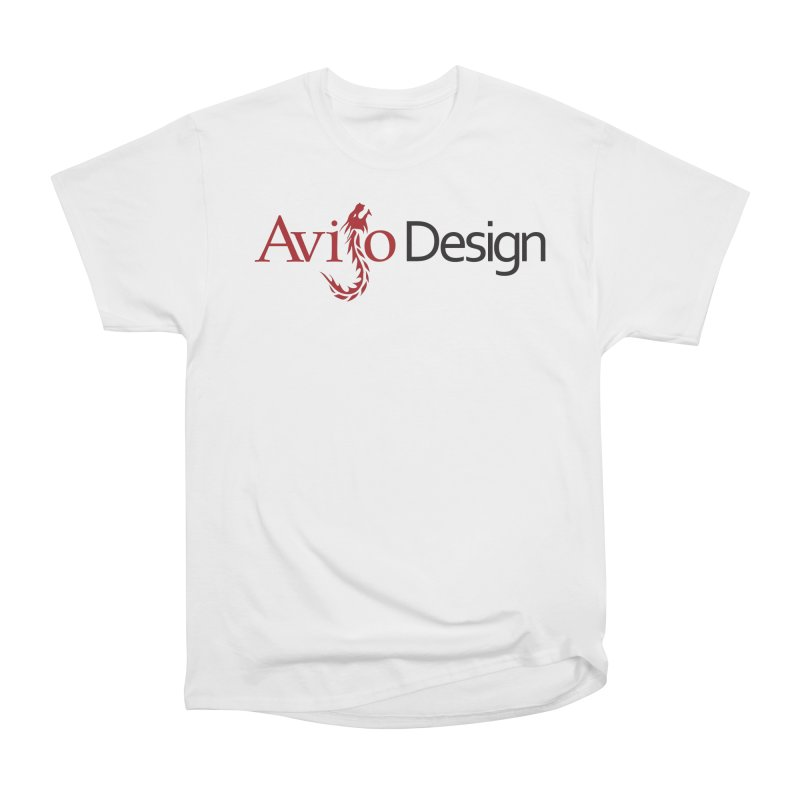 Avijo Design Logo Women's Heavyweight Unisex T-Shirt by AvijoDesign's Artist Shop