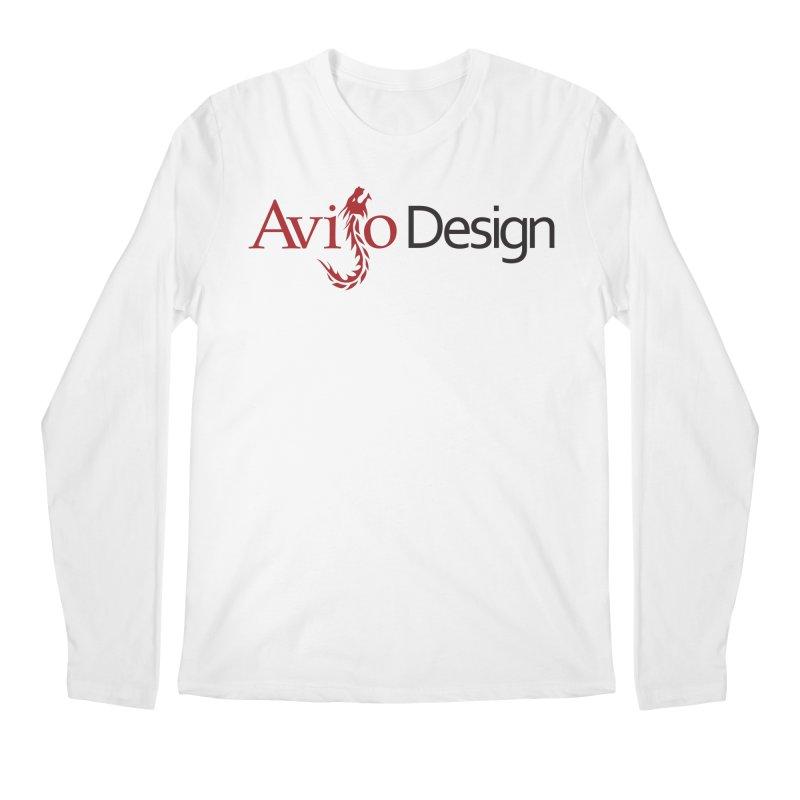 Avijo Design Logo Men's Longsleeve T-Shirt by AvijoDesign's Artist Shop