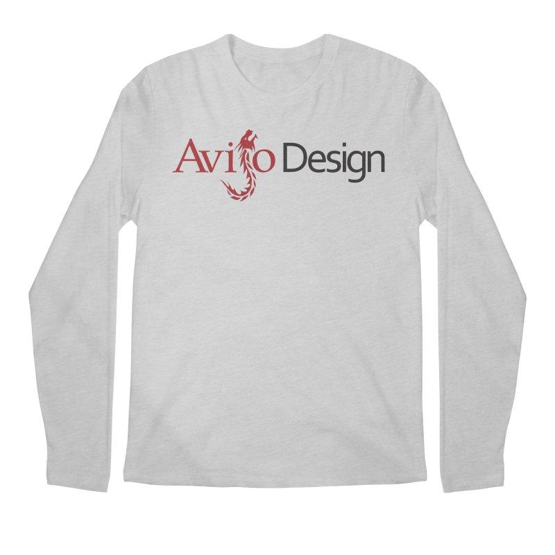 Avijo Design Logo Men's Regular Longsleeve T-Shirt by AvijoDesign's Artist Shop