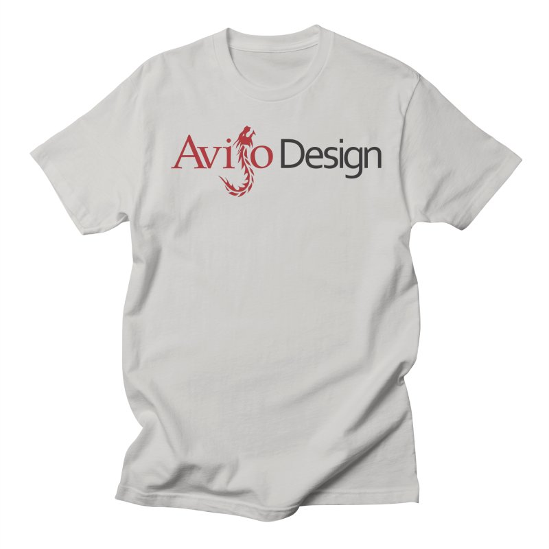 Avijo Design Logo Men's Regular T-Shirt by AvijoDesign's Artist Shop