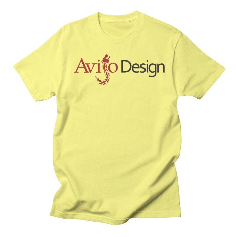 Avijo Design Logo Women's Regular Unisex T-Shirt by AvijoDesign's Artist Shop