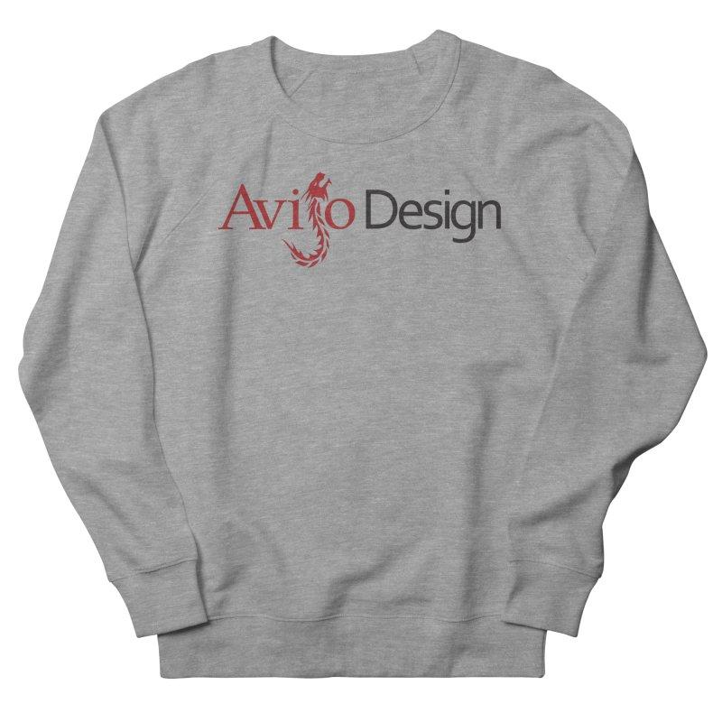 Avijo Design Logo Men's French Terry Sweatshirt by AvijoDesign's Artist Shop
