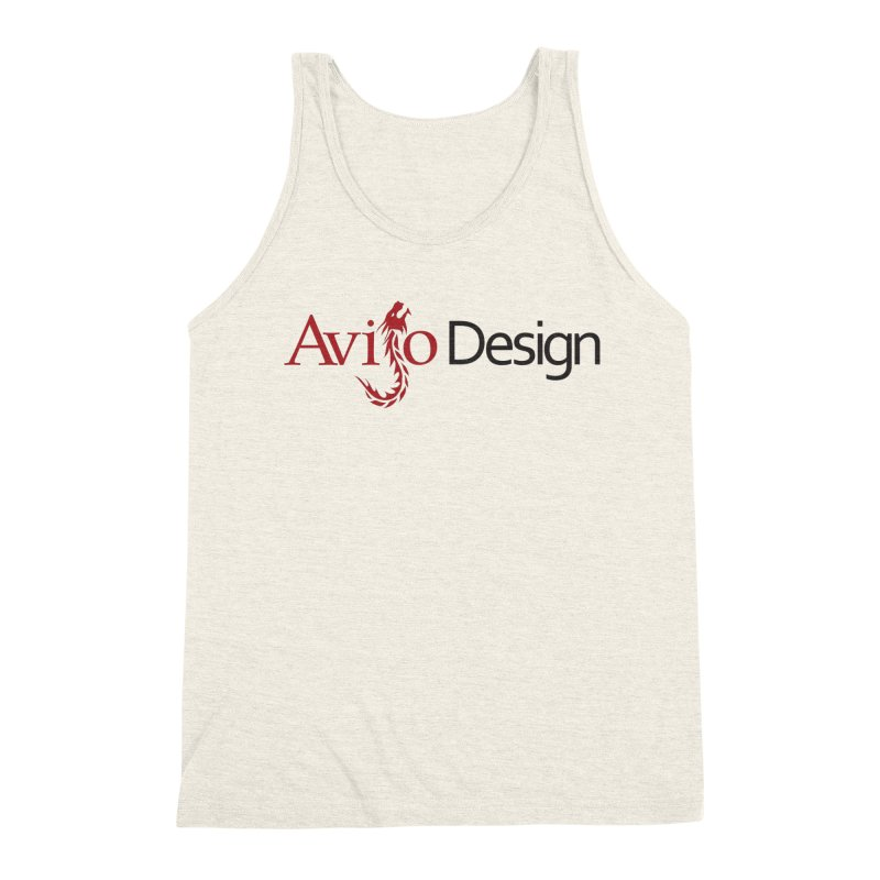 Avijo Design Logo Men's Triblend Tank by AvijoDesign's Artist Shop