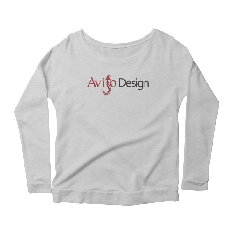 Avijo Design Logo Women's Scoop Neck Longsleeve T-Shirt by AvijoDesign's Artist Shop