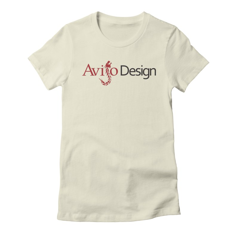 Avijo Design Logo Women's Fitted T-Shirt by AvijoDesign's Artist Shop