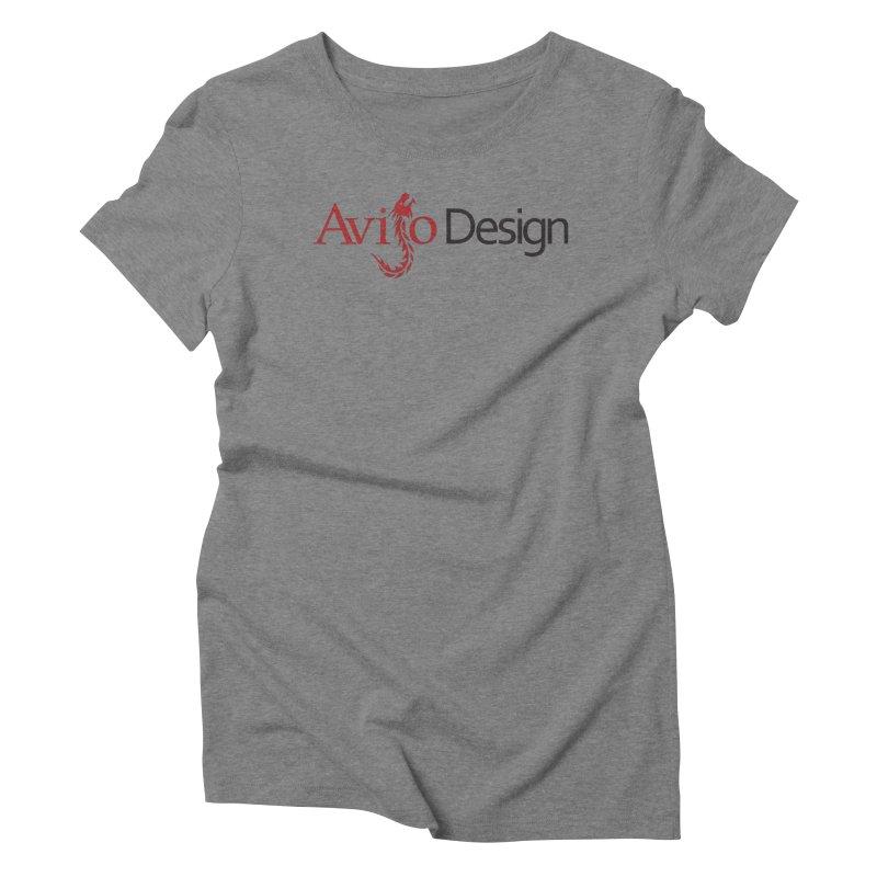 Avijo Design Logo Women's Triblend T-Shirt by AvijoDesign's Artist Shop