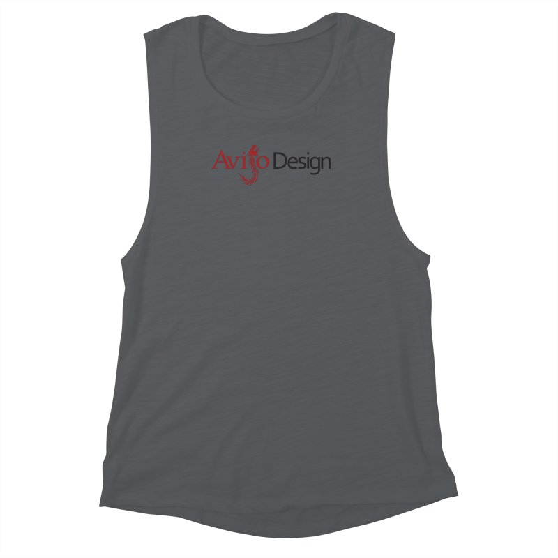 Avijo Design Logo Women's Muscle Tank by AvijoDesign's Artist Shop