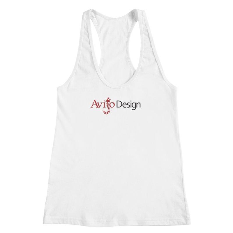 Avijo Design Logo Women's Racerback Tank by AvijoDesign's Artist Shop