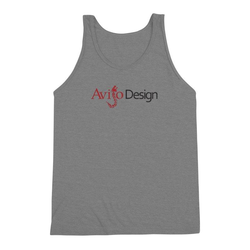 Avijo Design Logo Men's Triblend Tank by AvijoDesign's Artist Shop