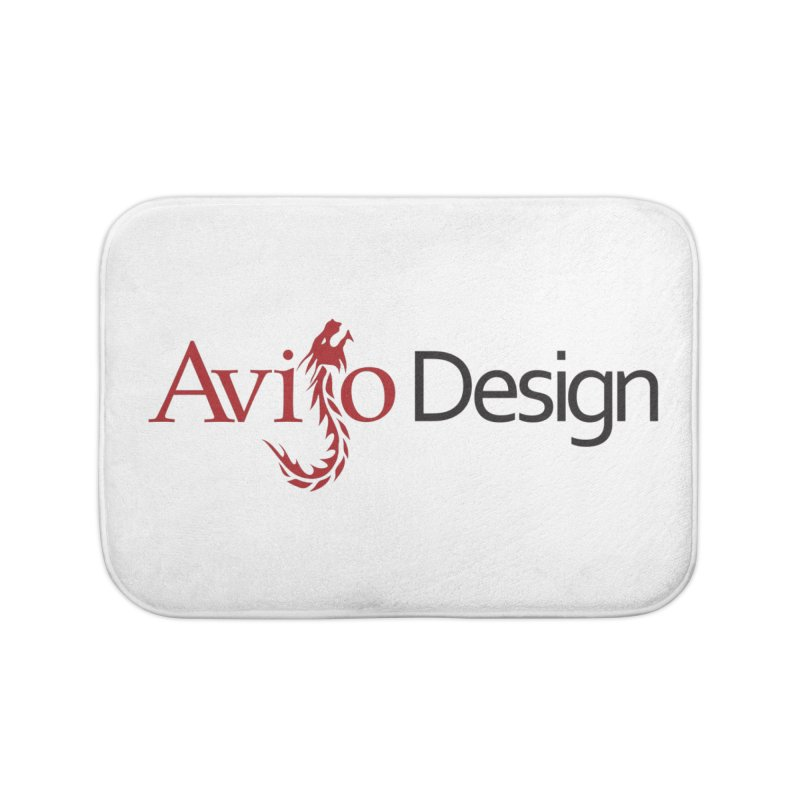 Avijo Design Logo Home Bath Mat by AvijoDesign's Artist Shop