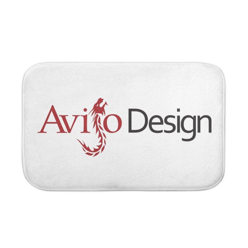 Avijo Design Logo Home Bath Mat by AvijoDesign's Artist Shop
