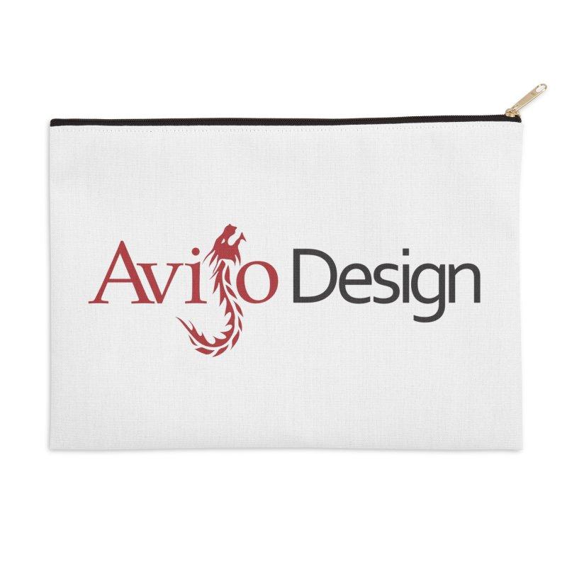 Avijo Design Logo Accessories Zip Pouch by AvijoDesign's Artist Shop