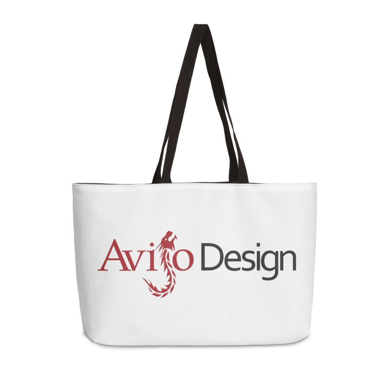 Avijo Design Logo Accessories Weekender Bag Bag by AvijoDesign's Artist Shop