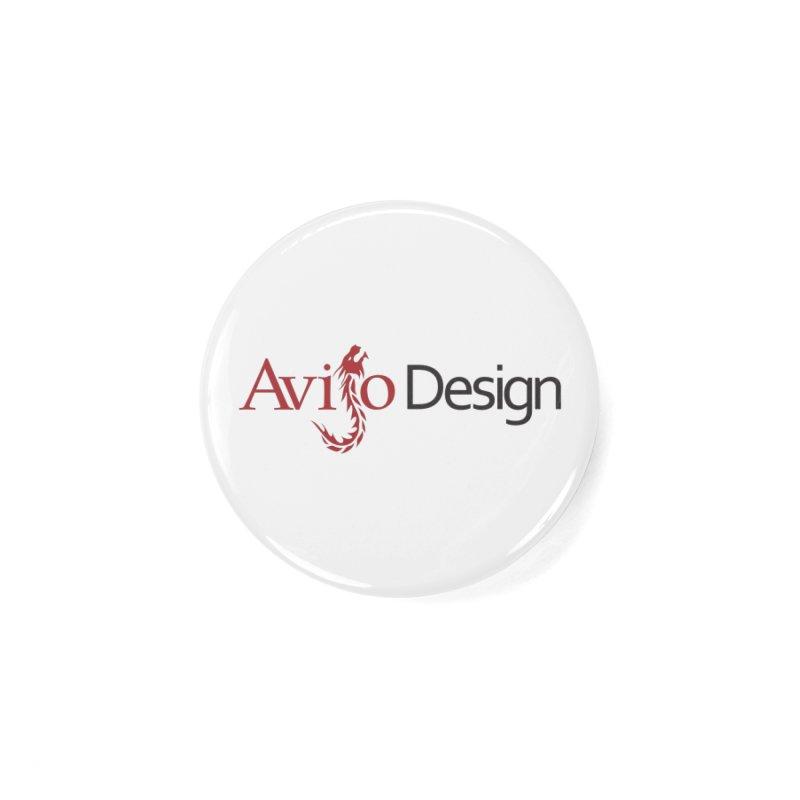 Avijo Design Logo Accessories Button by AvijoDesign's Artist Shop