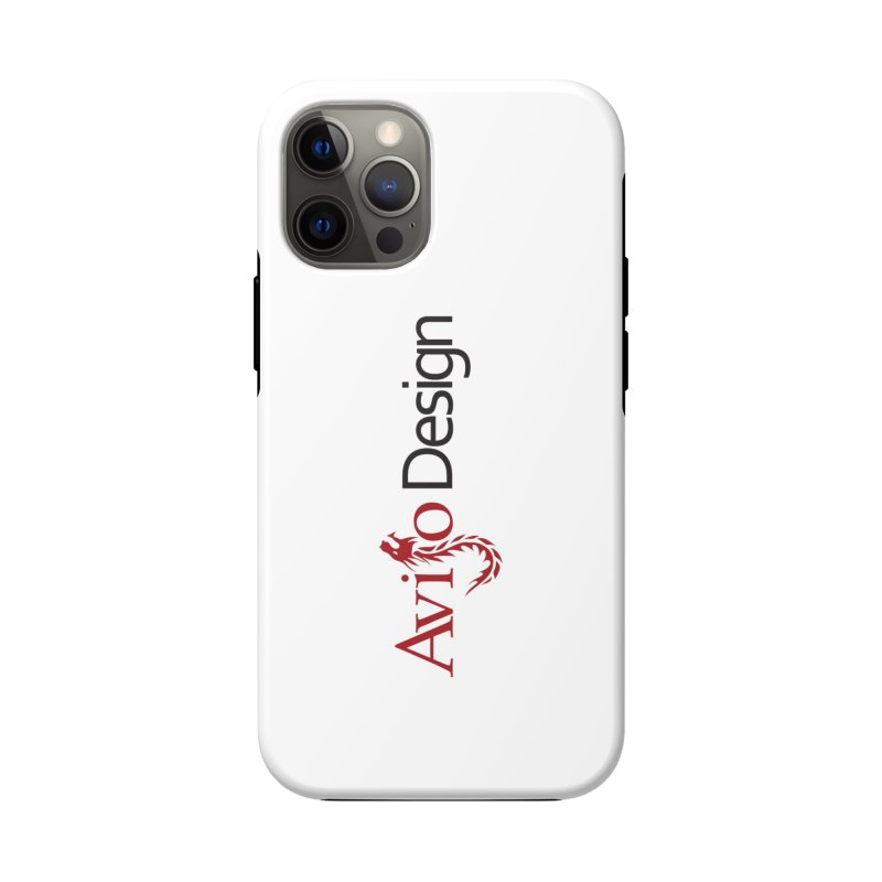 Avijo Design Logo Accessories Phone Case by AvijoDesign's Artist Shop