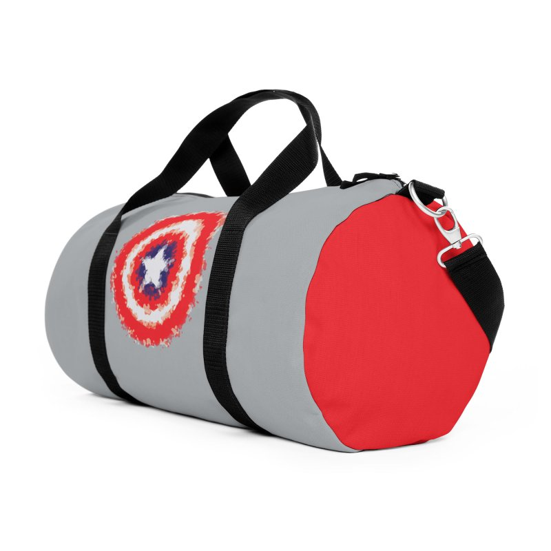 Captain Accessories Duffel Bag Bag by AvijoDesign's Artist Shop