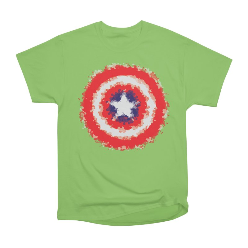 Captain Men's Heavyweight T-Shirt by AvijoDesign's Artist Shop