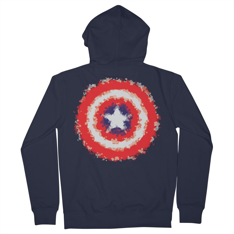 Captain Women's French Terry Zip-Up Hoody by AvijoDesign's Artist Shop