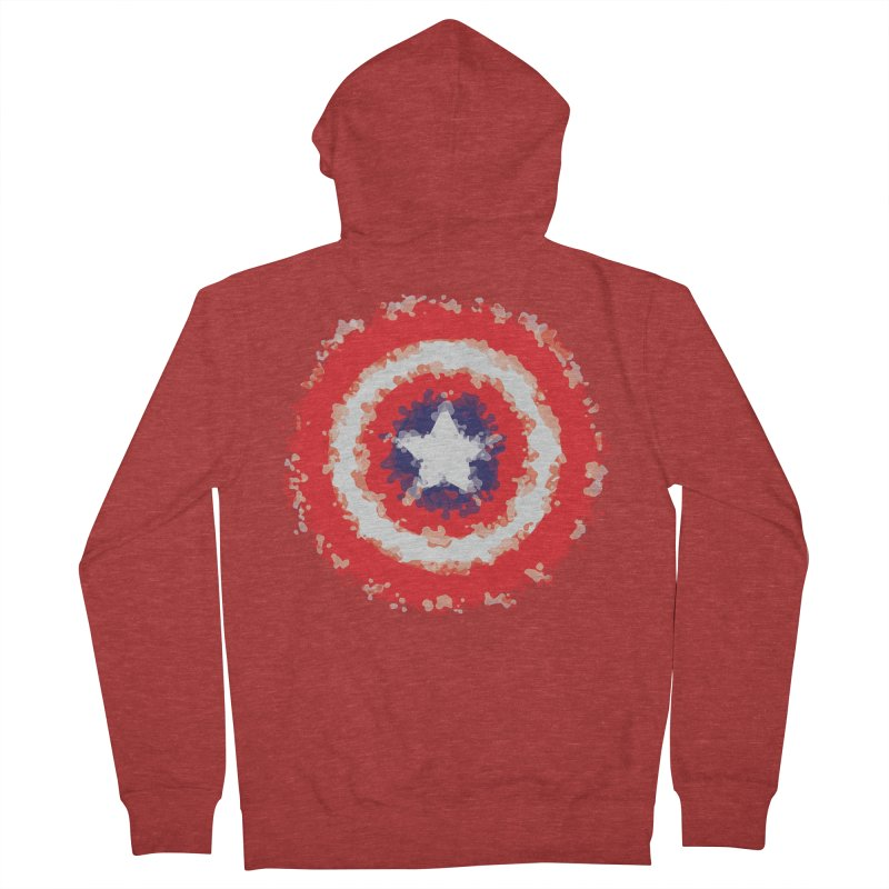 Captain Men's French Terry Zip-Up Hoody by AvijoDesign's Artist Shop