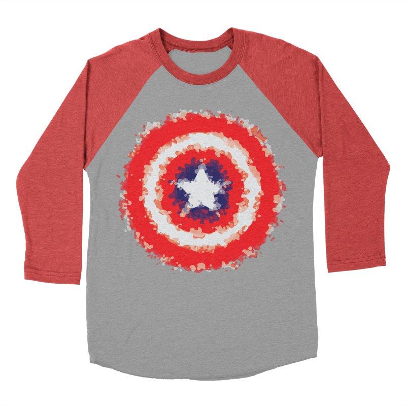 Captain Men's Baseball Triblend Longsleeve T-Shirt by AvijoDesign's Artist Shop