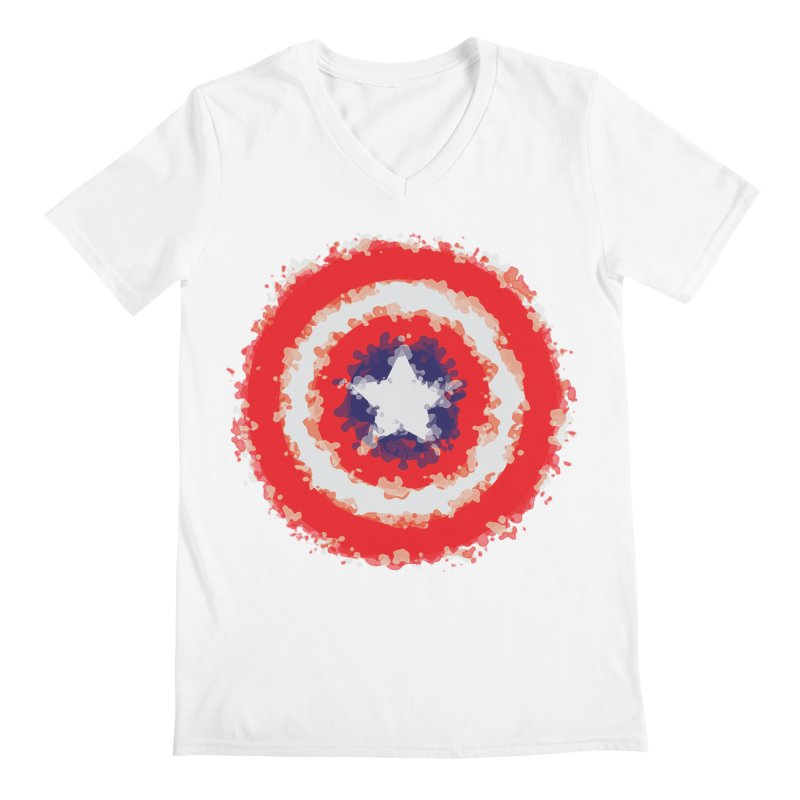 Captain Men's Regular V-Neck by AvijoDesign's Artist Shop
