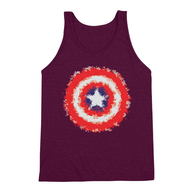 Captain Men's Triblend Tank by AvijoDesign's Artist Shop