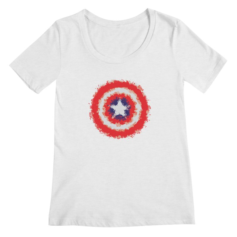 Captain Women's Scoop Neck by AvijoDesign's Artist Shop