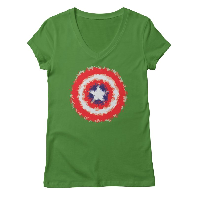 Captain Women's Regular V-Neck by AvijoDesign's Artist Shop