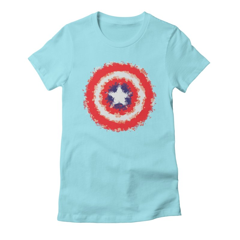 Captain Women's Fitted T-Shirt by AvijoDesign's Artist Shop