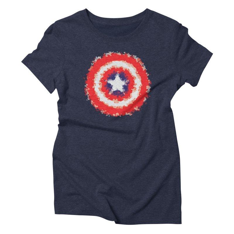 Captain Women's Triblend T-Shirt by AvijoDesign's Artist Shop