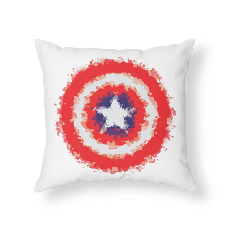 Captain Home Throw Pillow by AvijoDesign's Artist Shop