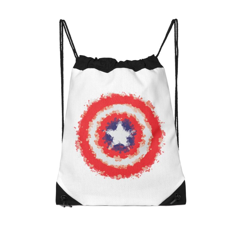 Captain Accessories Drawstring Bag Bag by AvijoDesign's Artist Shop