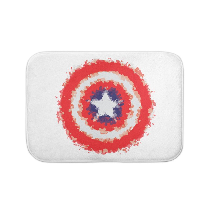 Captain Home Bath Mat by AvijoDesign's Artist Shop
