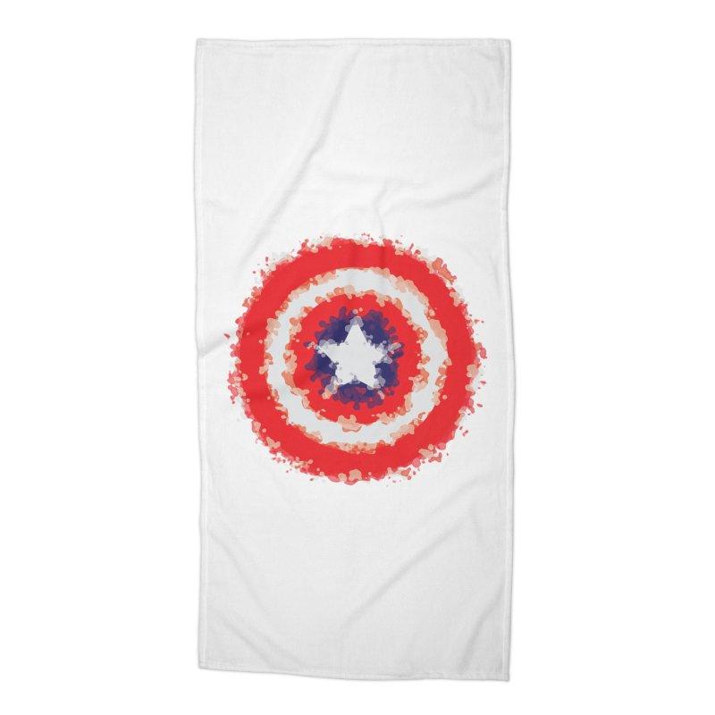 Captain Accessories Beach Towel by AvijoDesign's Artist Shop