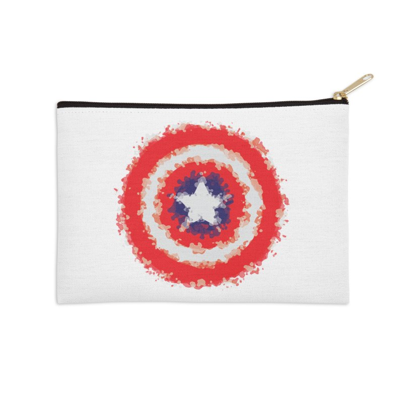 Captain Accessories Zip Pouch by AvijoDesign's Artist Shop
