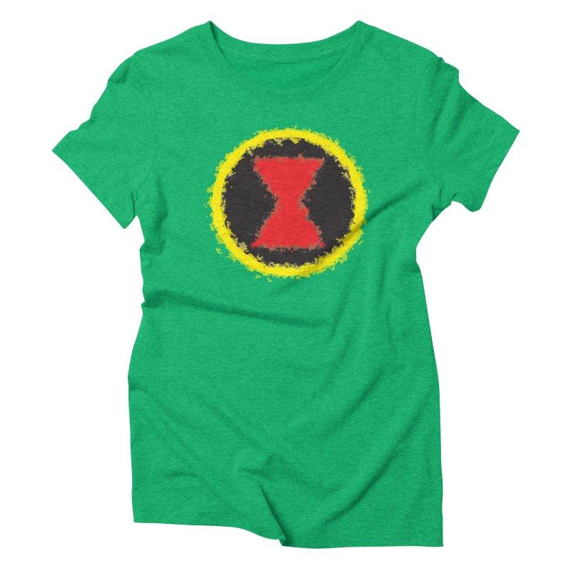Widow Women's Triblend T-Shirt by AvijoDesign's Artist Shop