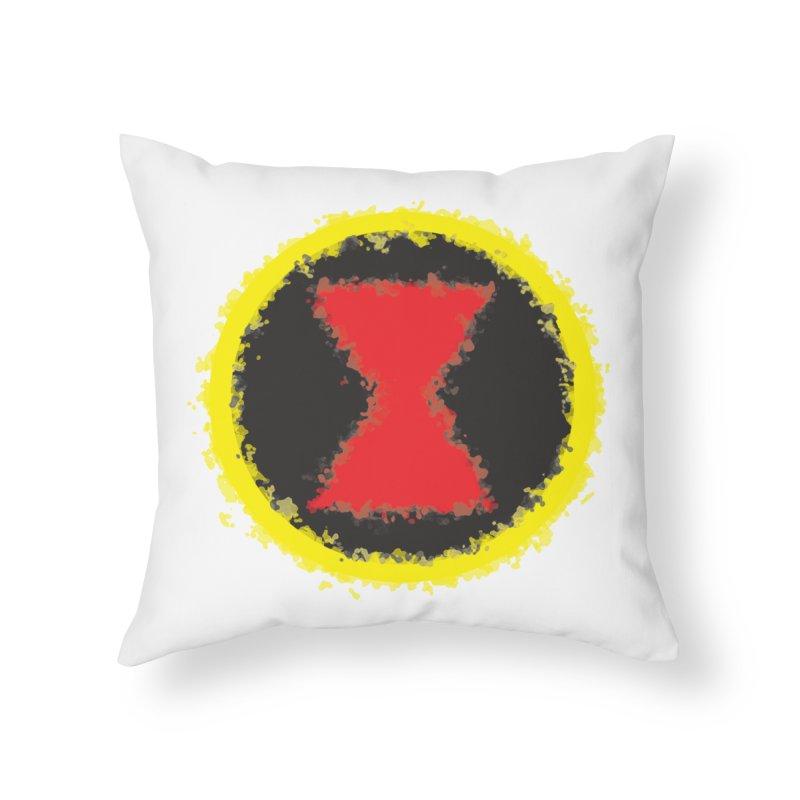Widow Home Throw Pillow by AvijoDesign's Artist Shop