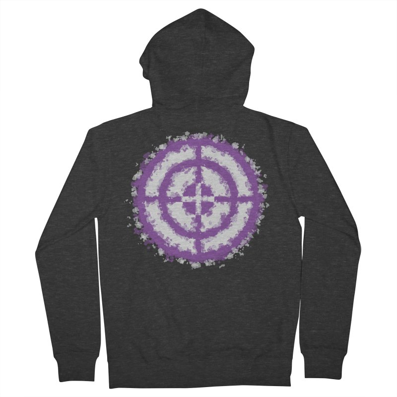 Hawkeye Women's French Terry Zip-Up Hoody by AvijoDesign's Artist Shop